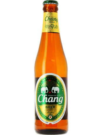 Transparent beer chang.