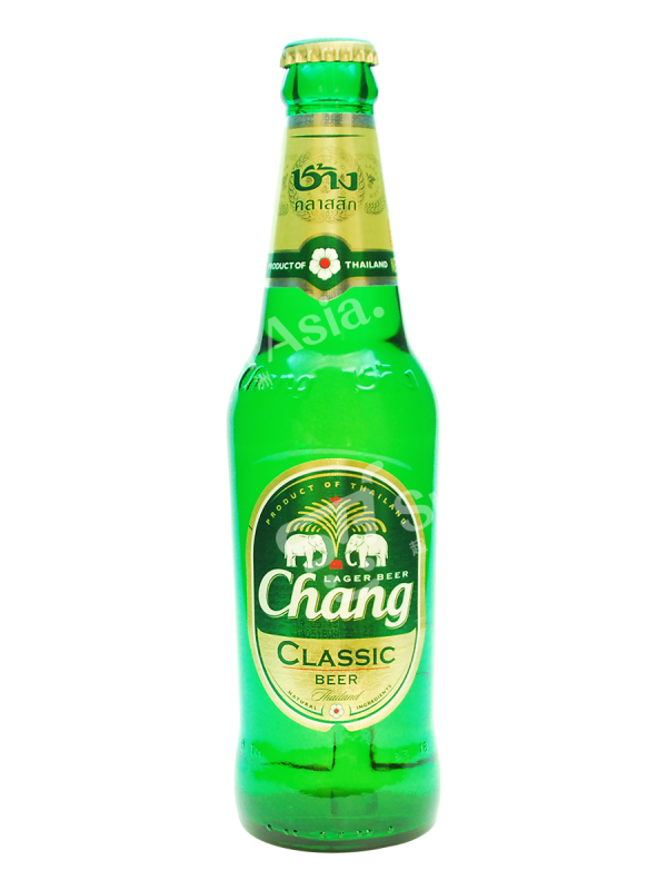Transparent beer chang. Classic ml