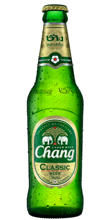 Transparent beer chang. Bottle ml btl island