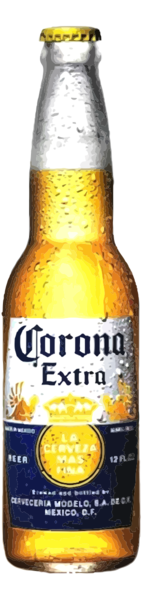 corona transparent 12 oz