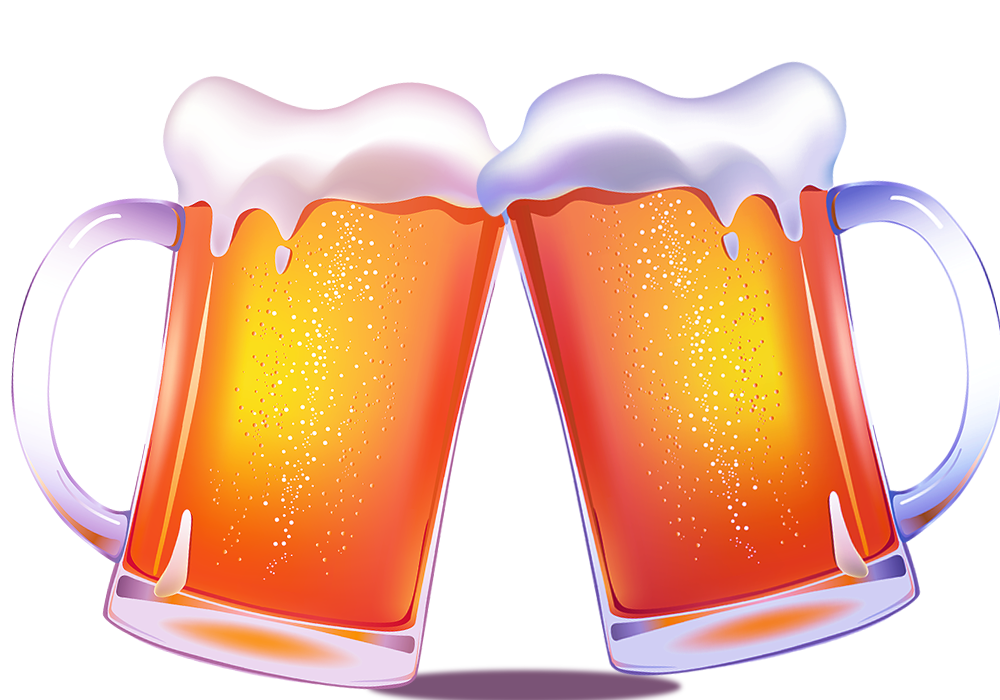Transparent beer froth. Foam bottle icon new