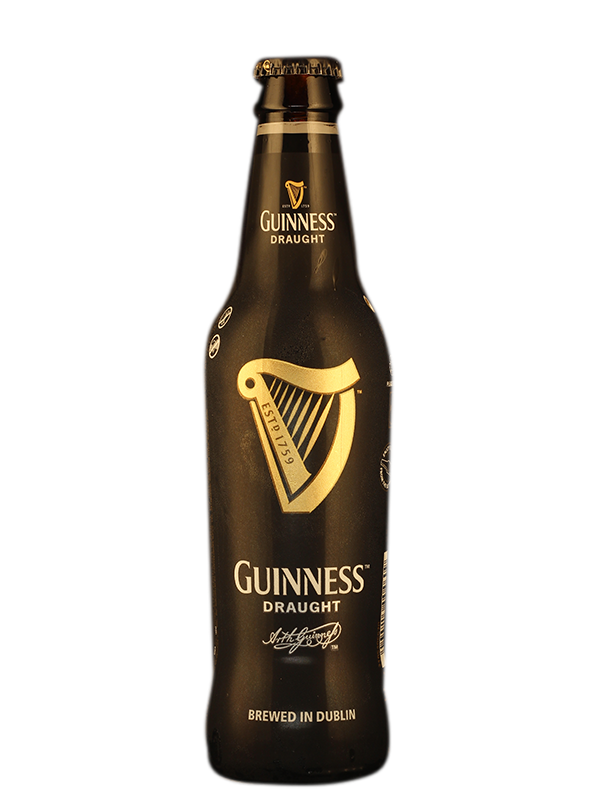 Transparent beer guinness. Order draught cl at