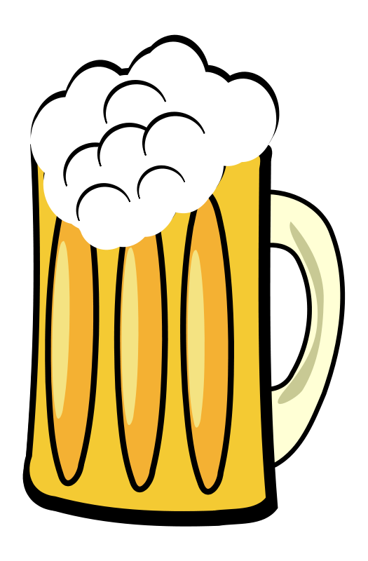 Transparent beer illustration. Free stock photo of