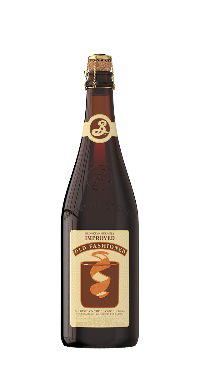 Transparent beer old. Improved fashioned brooklyn brewery
