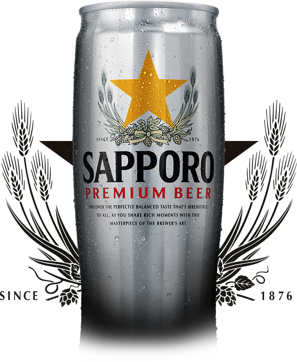 Transparent beer tall. Sapporo sapporobeer com superiorcan