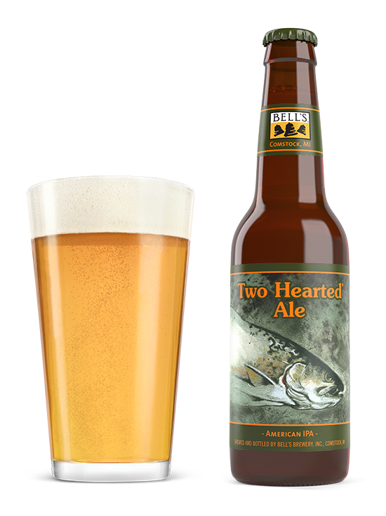 Transparent beer two. Hearted ale bell s