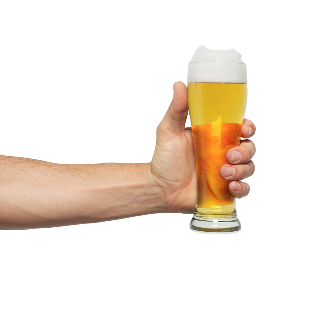 Vector wheat beer. Wine mug png images