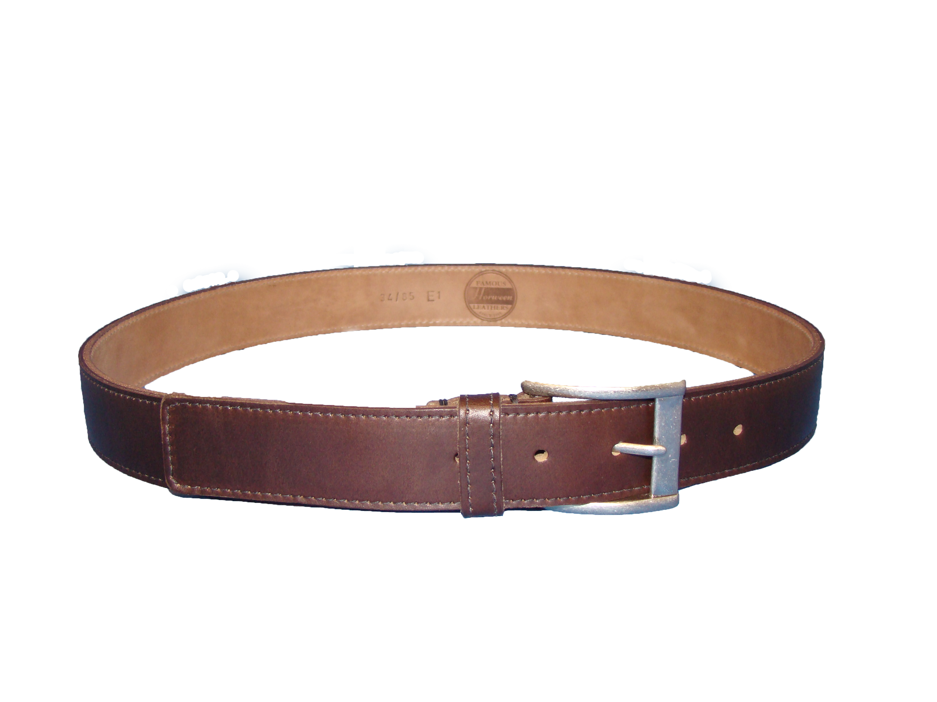 Transparent belt. Brown chrome excel png
