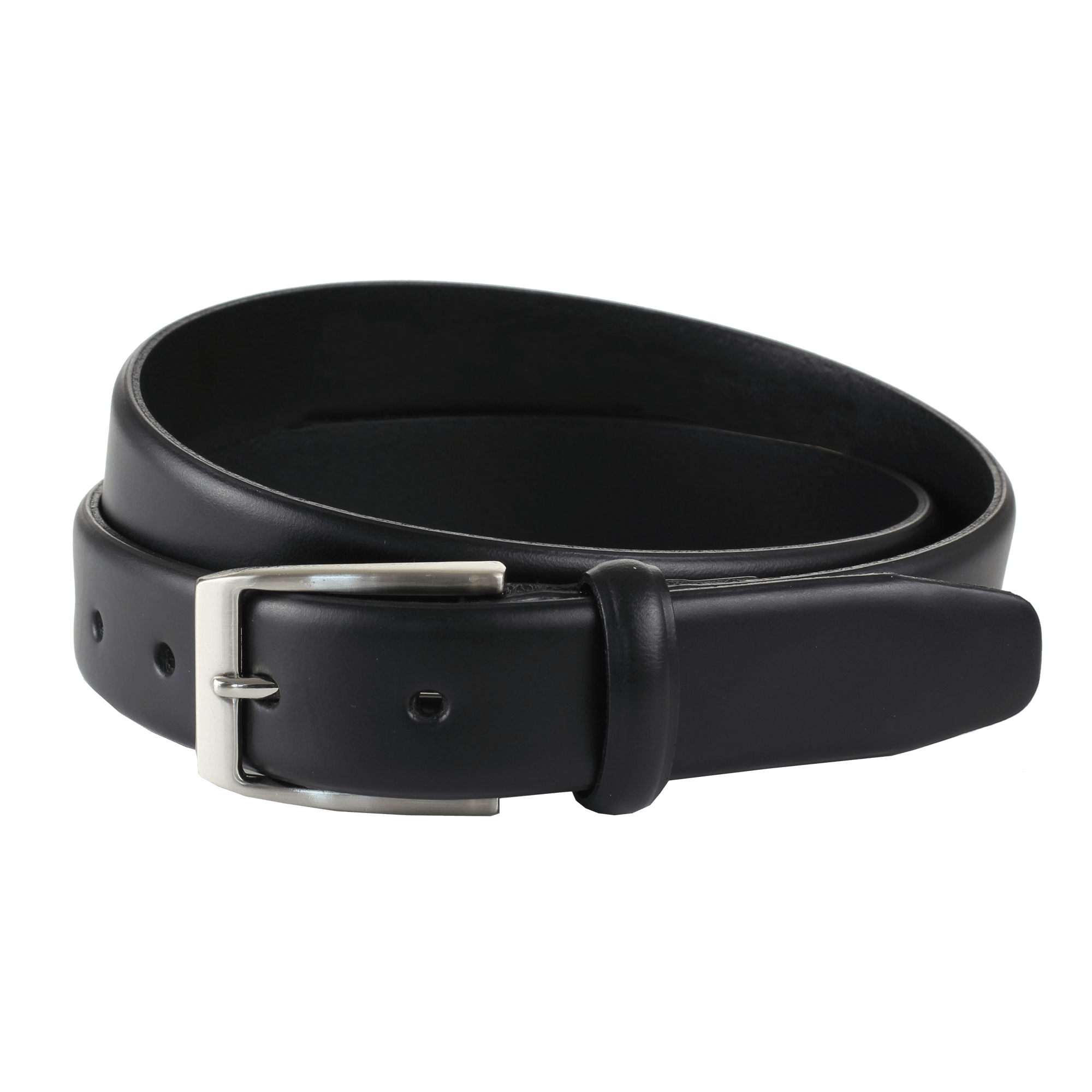 Transparent belt. Black leather png stickpng