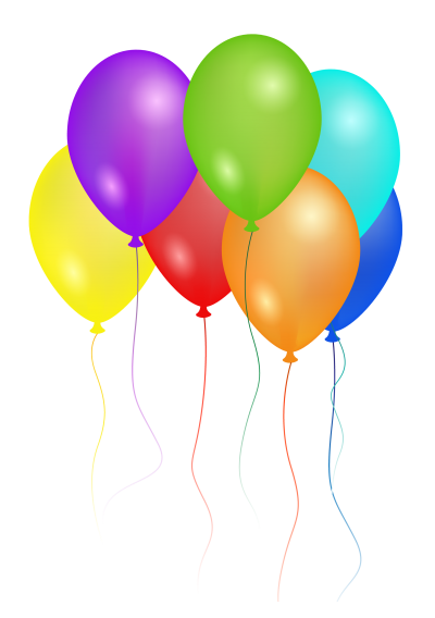 Transparent bg colorful. Download balloons free png