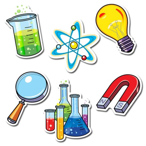 Transparent science background. Png arts