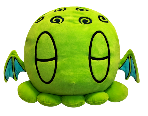 Transparent blanket plush. C is for cthulhu