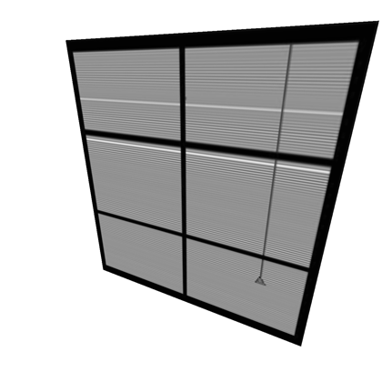 Transparent blinds cool. Window closed solidsnake roblox