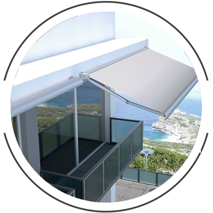 Transparent blinds balcony. Shade sails structures melbourne