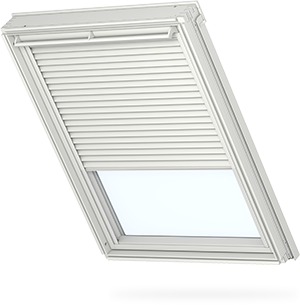Transparent blinds slim. Velux pleated adjusting the