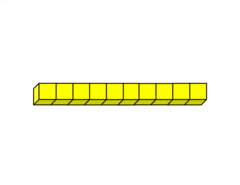 Transparent blocks base 10. Viewing of results for