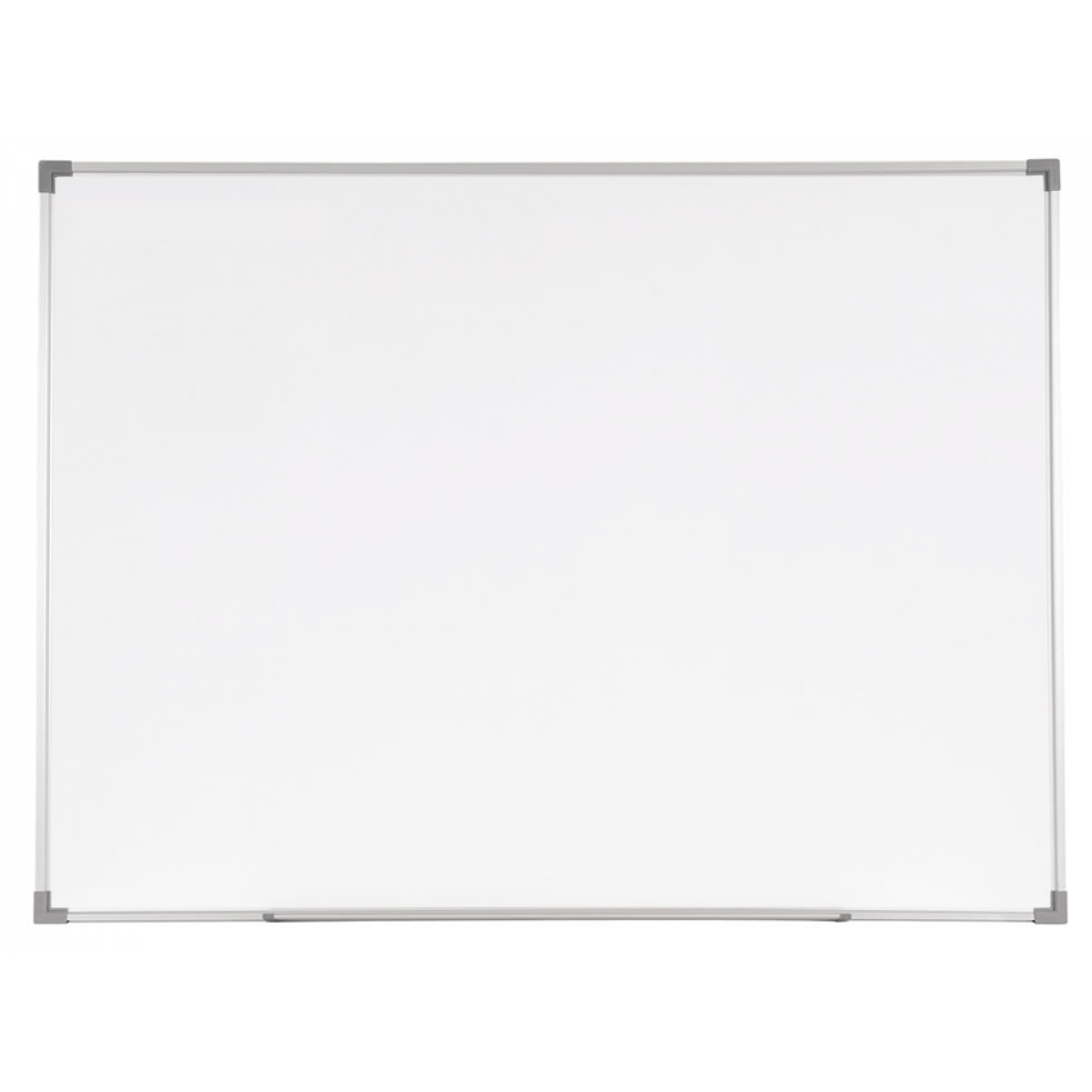Whiteboard vector office notice board. Glass writing with frame