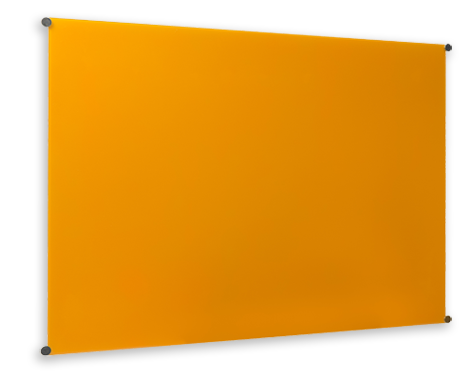 Transparent boards large glass. Magnetic whiteboards available in