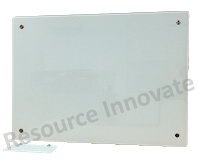 Transparent boards large glass. Tempered writing board resource