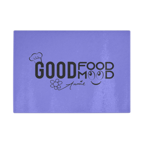 Transparent boards tempered glass. Good food mood cutting