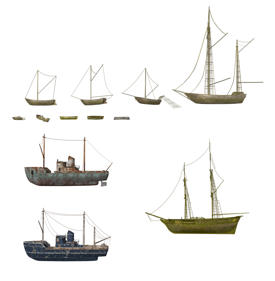 Transparent boats deviantart. Coc ships and by