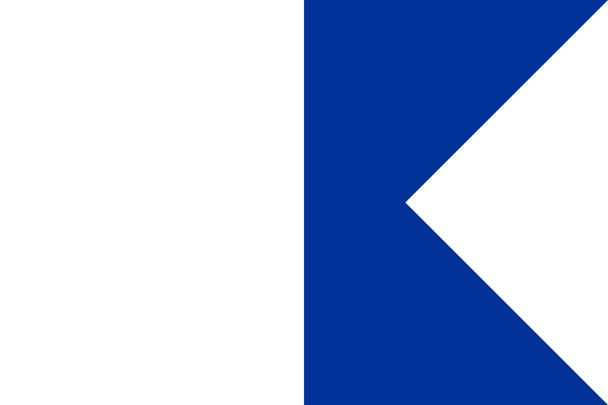 Transparent boats flag. Diver down wikipedia