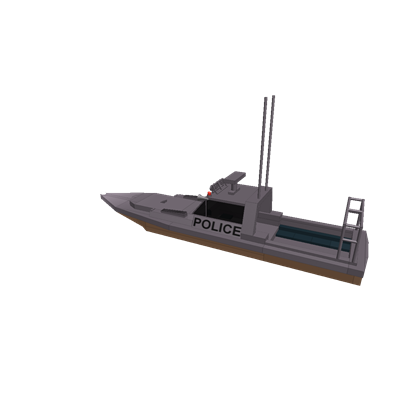 Transparent boats police. Boat roblox