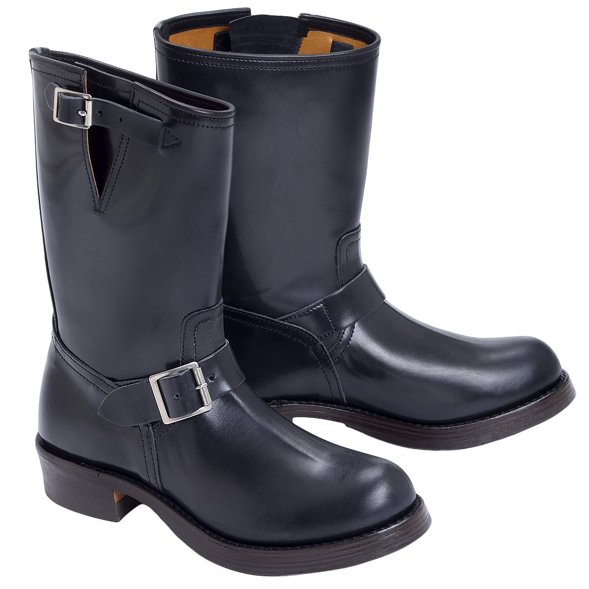 Transparent boot fashion. Buco cordovan engineer boots