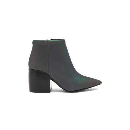 Transparent boot jeffrey campbell. Truly bootie in grey
