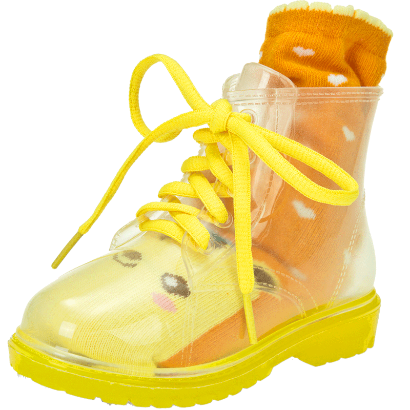 Transparent boot jelly. Ankle rain boots suppliers
