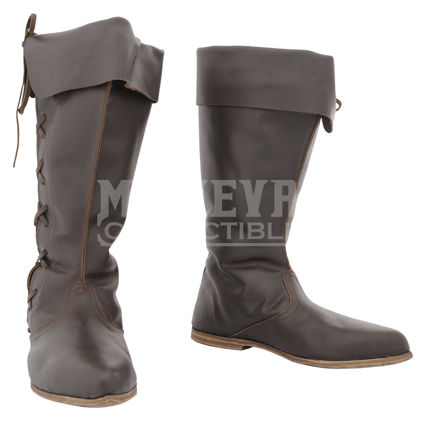 Knee length medieval shoes. Timbs png yankee banner transparent stock