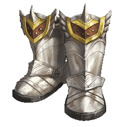 Transparent boot knight. Greaves item database tree