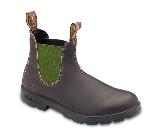 Transparent boot original. Stout brown with olive