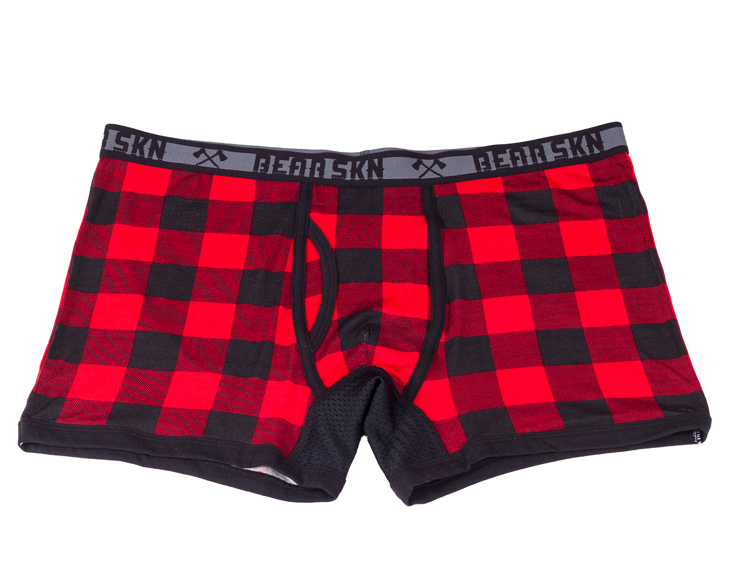 Transparent boxers small. Backwoods boxer brief red