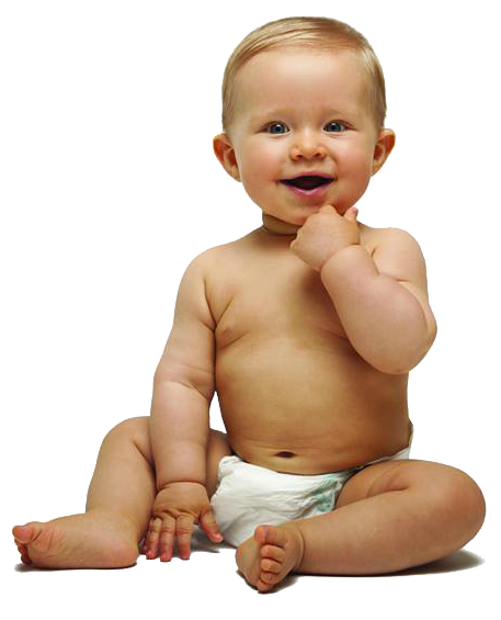 Transparent boy. Little baby background png