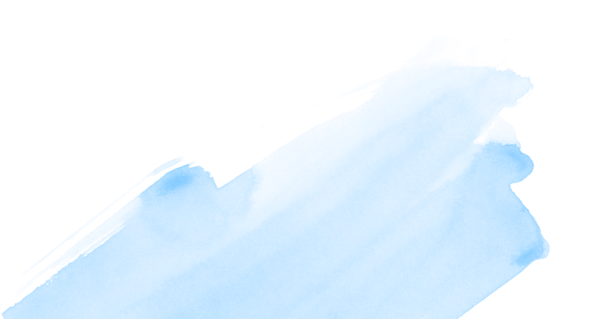 Transparent brush stroke png. Blue by ecish on