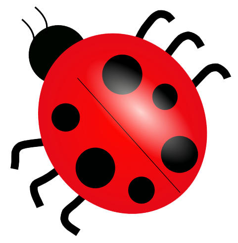 Transparent bugs red. Png mart