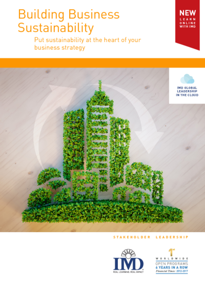 Transparent building business. Imd sustainability bbs online