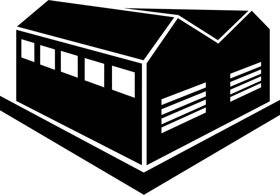Transparent building industrial. Svg png icon free