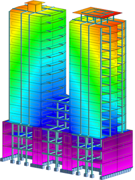Transparent building structural. Design and analysis overview