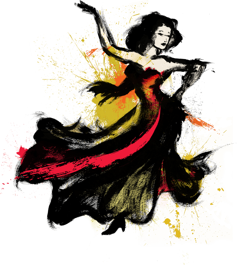 sargent drawing flamenco