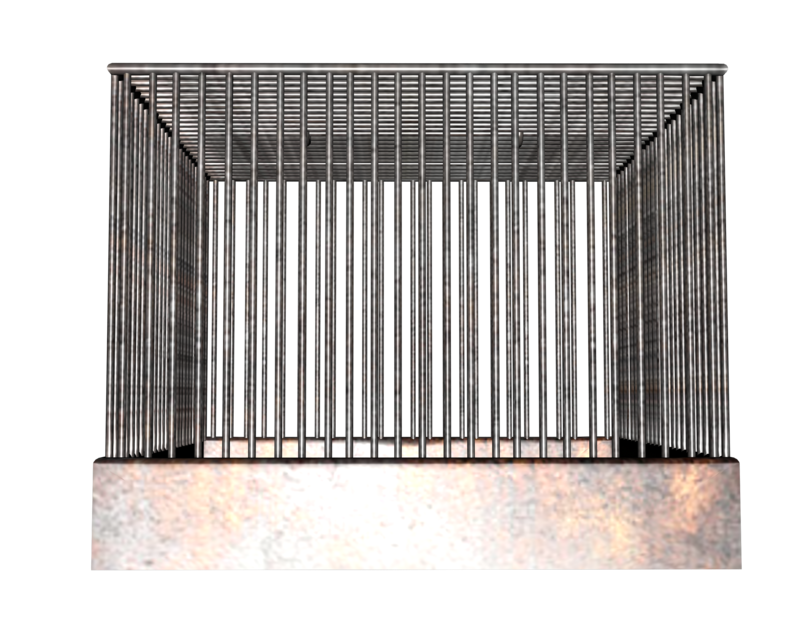 Transparent cage. Download free png background