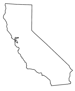 Transparent cali black and white. Download california free png