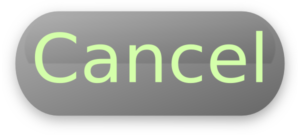 Transparent cancelled vector png. Free cancel button image