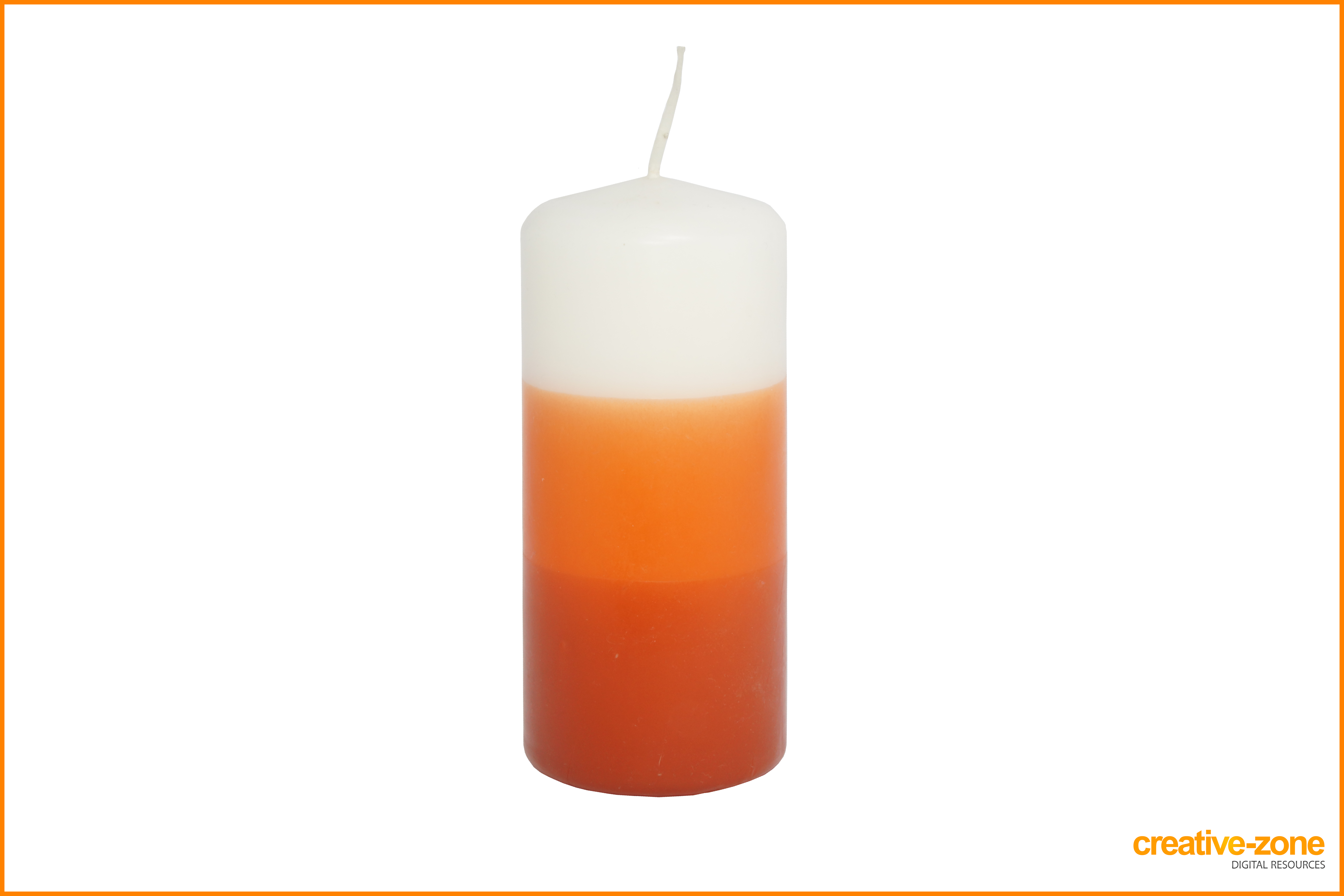 Household archive creative zone. Transparent candles jpg royalty free stock