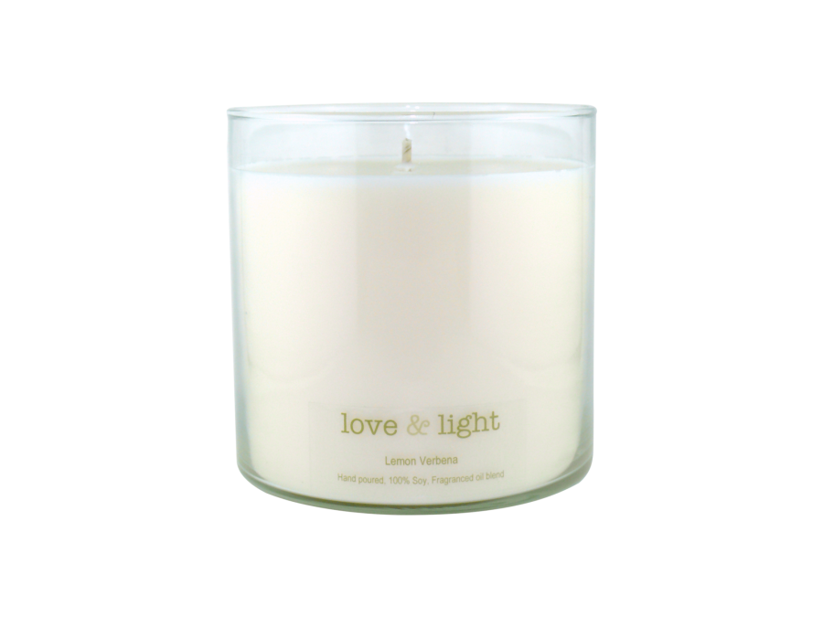 Transparent candles candle wick. Extra large soy kg