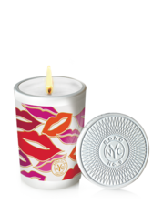 Transparent candles scented candle. Bond no new york