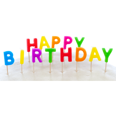 Transparent candles happy birthday. Line png stickpng cake