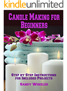 Transparent candles rip candle. Making business a book