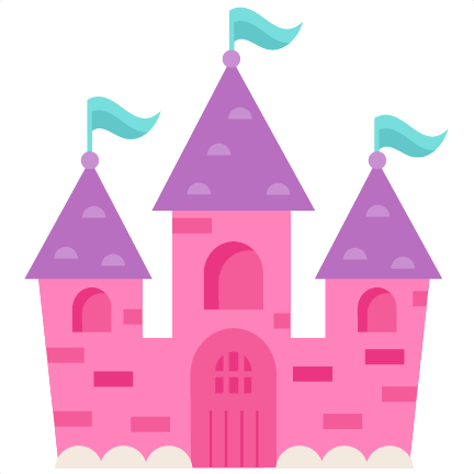 Transparent castle cute. Clipart borders vectors animated